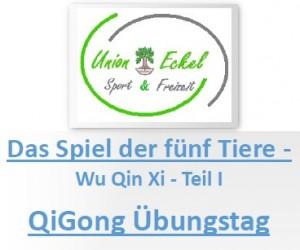 FC Union Eckel eV QiGong Tag mit Frank Hänsel am 27.04.2019